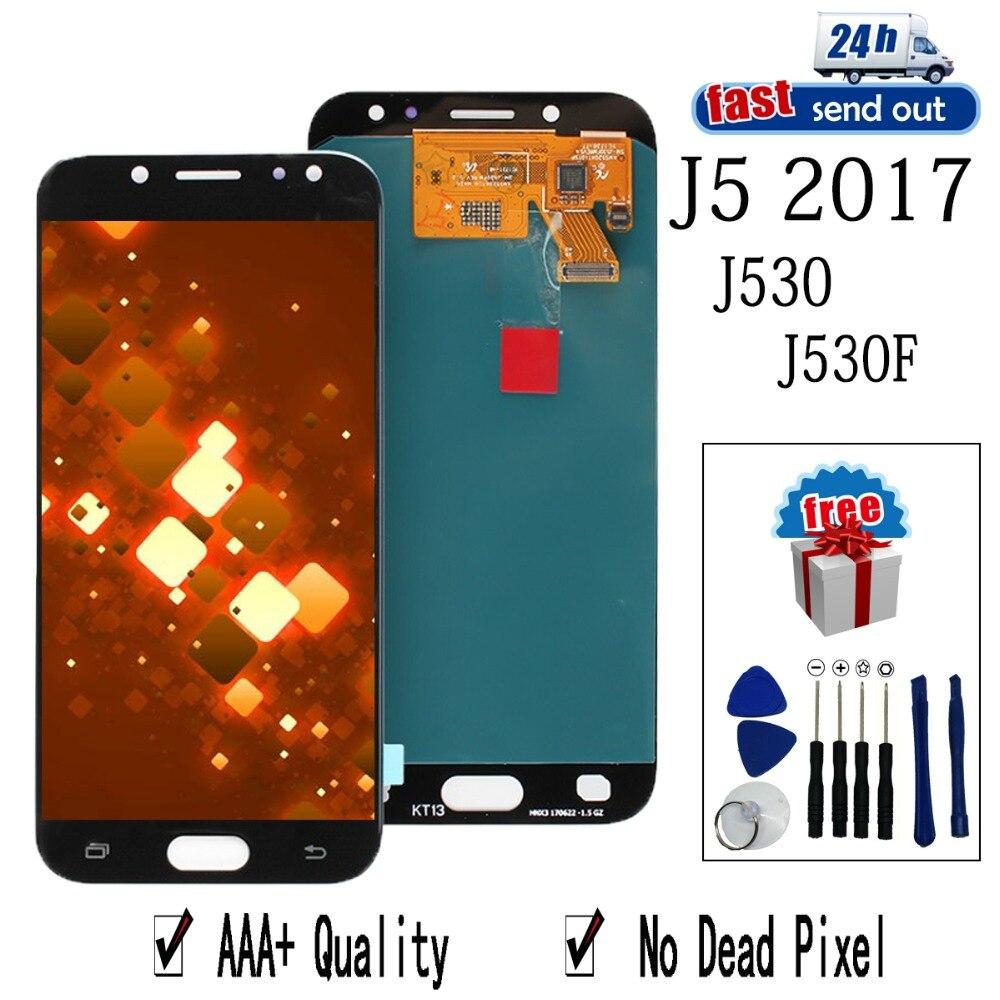 AMOLED LCD Pour SAMSUNG Galaxy J5 2017 Pro LCD Affichage J530 J530F Écran Tactile Testé Digitizer Assemblée