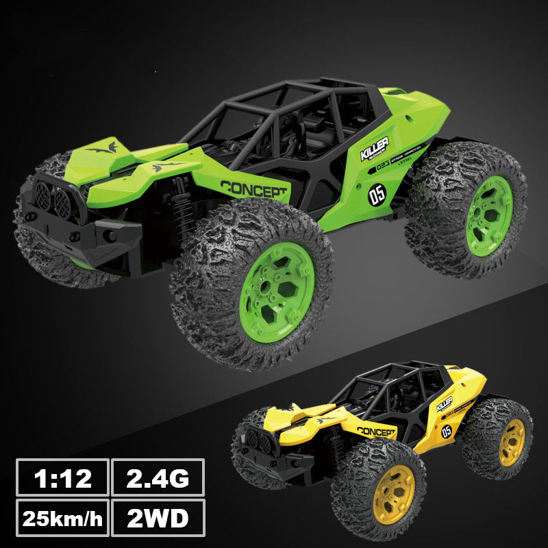 1/12 <font><b>Scale</b></font> Electric <font><b>rc</b></font> <font><b>car</b></font> 2.4G High Speed 25km/h Racing Climbing Remote Control <font><b>Cars</b></font> Off-Road Vehicle Toys for boy Kids Gifts image