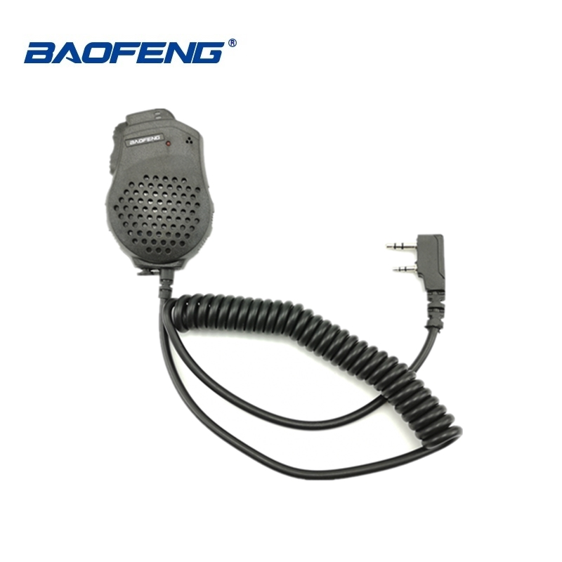 1/2pcs Baofeng UV-82 Dual PTT Mic Speaker Microphone Baofeng Two Way Radio UV 82 UV-8D UV-89 UV-82HP Walkie Talkie Accessories