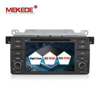 Großhandelspreis! 8 core Android7.1 auto-dvd gps für BMW 3 serie E46 M3 unterstützung 4g wifi einschließlich canbus