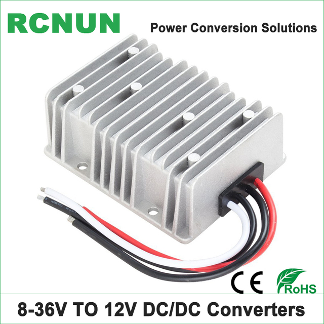 Dc-dc конвертер 8-36 В до 12 В 20A шаг-шаг вверх-вниз Мощность модуль 12 вольт до 12 Вольт 240 Вт Boost Buck Конвертеры