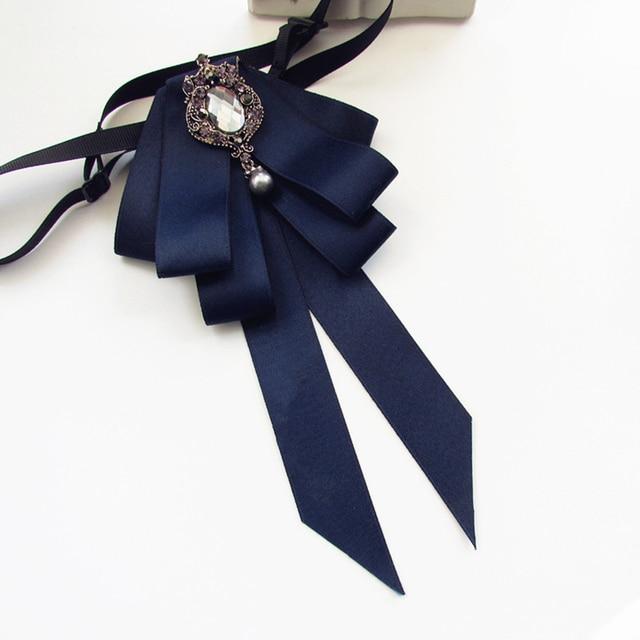 Femme Style Bowtie De Pour Filles Collège Femmes Noeuds Papillon Arc xXzaqwA