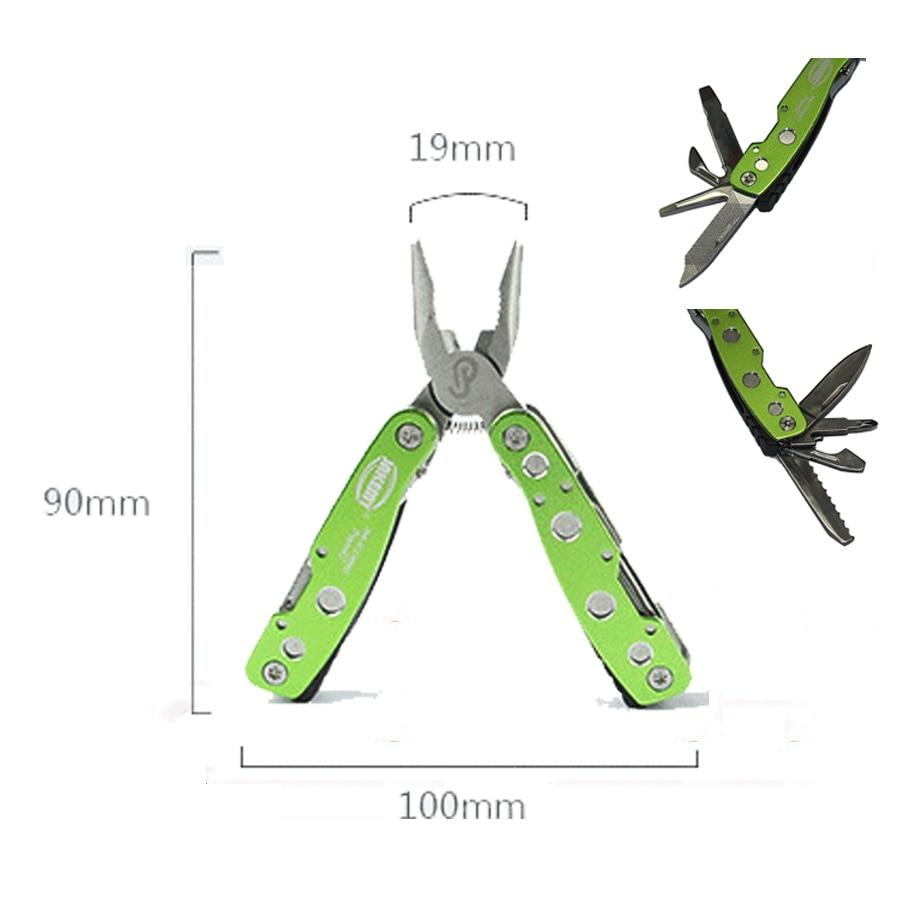 Mini wielofunkcyjny składany nóż wielofunkcyjny ze stali - Zestawy narzędzi - Zdjęcie 1