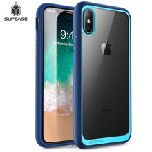 For iphone Xs Max Case 6.5 inch SUPCASE UB Style Premium Hybrid Protective Bumper + Clear Back Cover For iphone XS Max Case