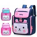 Школьный рюкзак с милым мультяшным кроликом для девочек  2 размера  школьные сумки для начальной школы  детские дорожные рюкзаки  2019