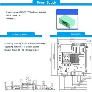 Image 3 - Gömülü ana kart Intel core i5 3210M işlemci fansız Mini ITX endüstriyel anakart