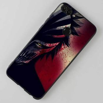 For Huawei P8 P9 P10 P20 P30 Pro Lite P Smart Plus Y6 Y9 2017 Black Soft Silicone Phone Case Anime Bleach One Punch Man Style 1