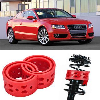 2pcs Size A Front Shock Suspension Cushion Buffer Spring Bumper For Audi A5 2.0T