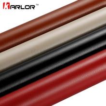 Vinilo adhesivo de 30x100cm con patrón de cuero de PVC, pegatina impermeable para decoración, pegatina de cambio de Color, envoltura de vinilo para coche y motocicleta