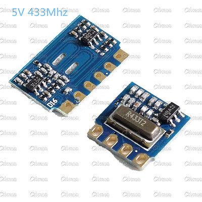 H5V4D 5V 433MHz MINI Wireless Receiver Module+Transmitter ModuleTransceiver