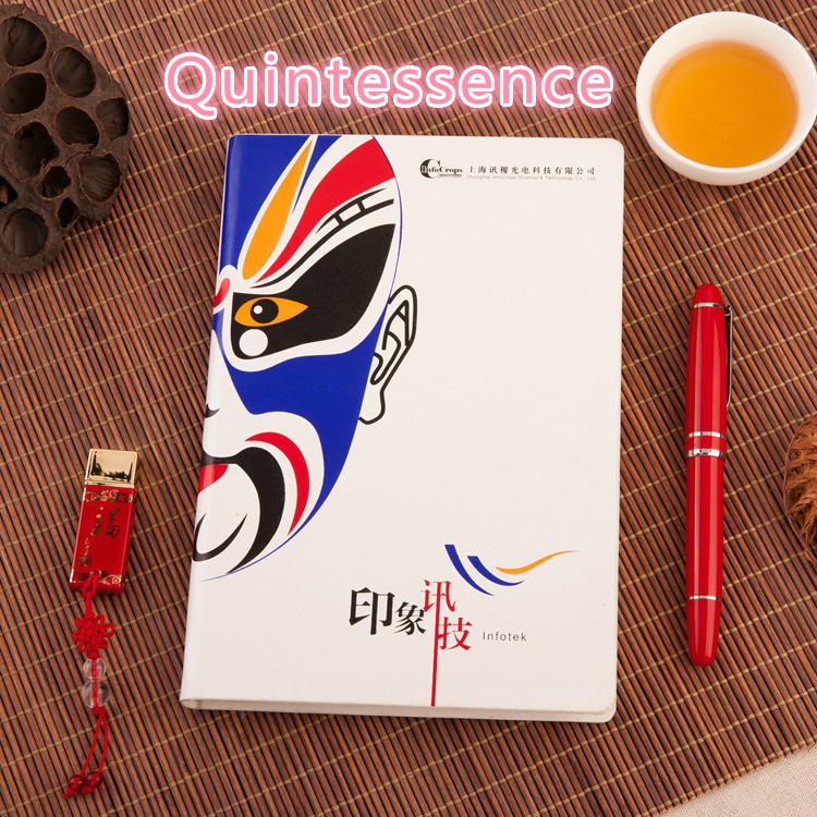 Ancient Ways Notebook Peking Opera Notepad Imitate Skin In National Notebook Peking Opera Facebook Chinese Style CESHI-3 8 pieces set china postage used stamps 1980 t 45 peking opera facebook