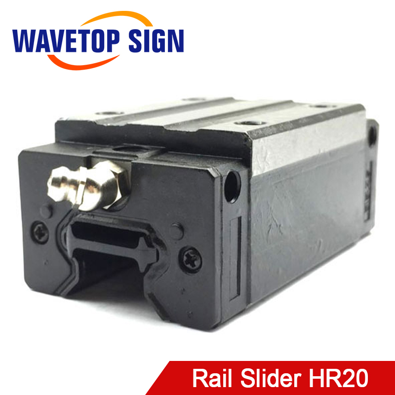 rail slider HR20 use for engraving machine parts instead HIWIIN HR20 linear guide for linear rail CNC diy parts large format printer spare parts wit color mutoh lecai locor xenons block slider qeh20ca linear guide slider 1pc
