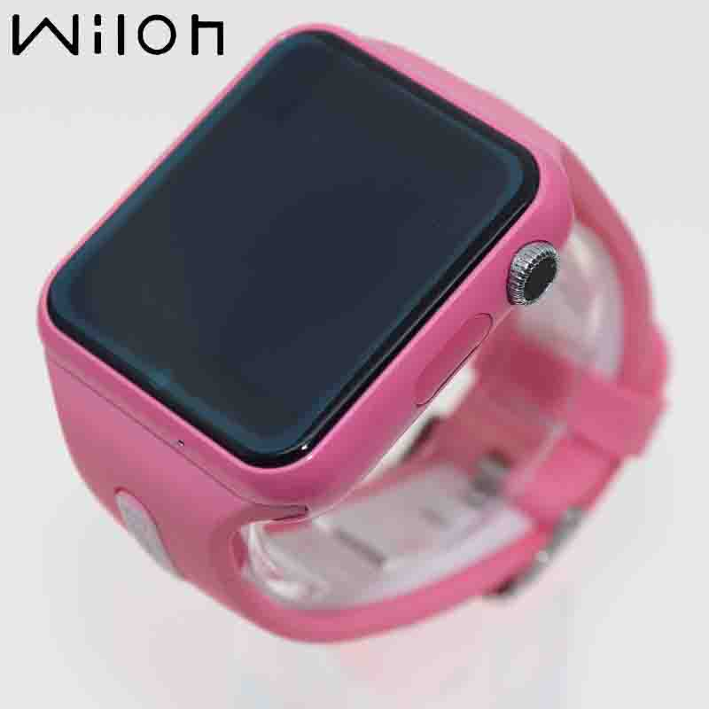 1pcs GPS Tracker Watch Kids Smart Watches SOS Call Location Device Tracker Camera Monitor Waterproof Pink V5K