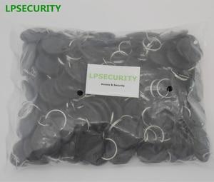 Image 5 - Lpsecurity 100 個 125 125khz キーホルダー rfid 近接 id カードトークンタグキーアクセス制御のための