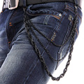 Fashion new Rock Waist Accessories Top Quality Men Hip-hop Street Punk Alloy Plating Rivet Jean Pant Chains