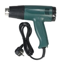 1800W AC220V High Quality hot air gun Temperature controlled Electric Heat Gun hot gun soldering Hair dryer with 4pcs Nozzles