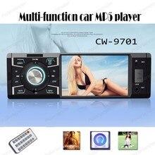 2017 новое поступление 4 дюймов EQ звук управления автомобилем MP5 плееров, Bluetooth телефон AUX-IN FM/USB пульт дистанционного управления с радио fm тюнер