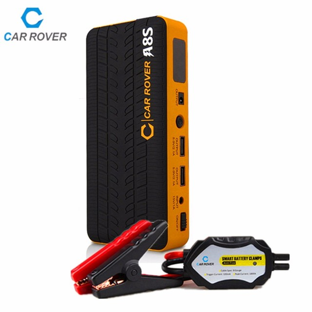 14000mah Portable Car Jump Starter Power Bank Emergency Auto Battery Booster Pack Vehicle Jumpe Start 800A Peak Current
