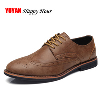 New 2018 Fashion Brand Oxfords Men Casual Shoes Soft Leather High Quality Men's Oxfords Male Brand Footwear K150