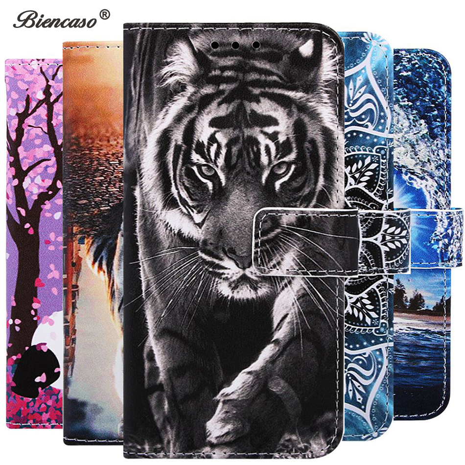 Cartoon Holder <font><b>Case</b></font> Card Slot Wallet <font><b>Flip</b></font> <font><b>Case</b></font> For <font><b>Huawei</b></font> <font><b>Honor</b></font> Play 8A Y6 Pro 2019 10 Lite P Smart 2019 Mate 20 Lite Back Cover image