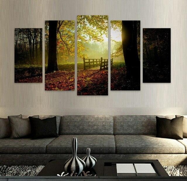 Entzuckend Wandbilder Für Wohnzimmer Natur Szenen HD Leinwand Wand Kunst Ungerahmt  Modulare Wandmalerei Heißer Cuadros Decor HD