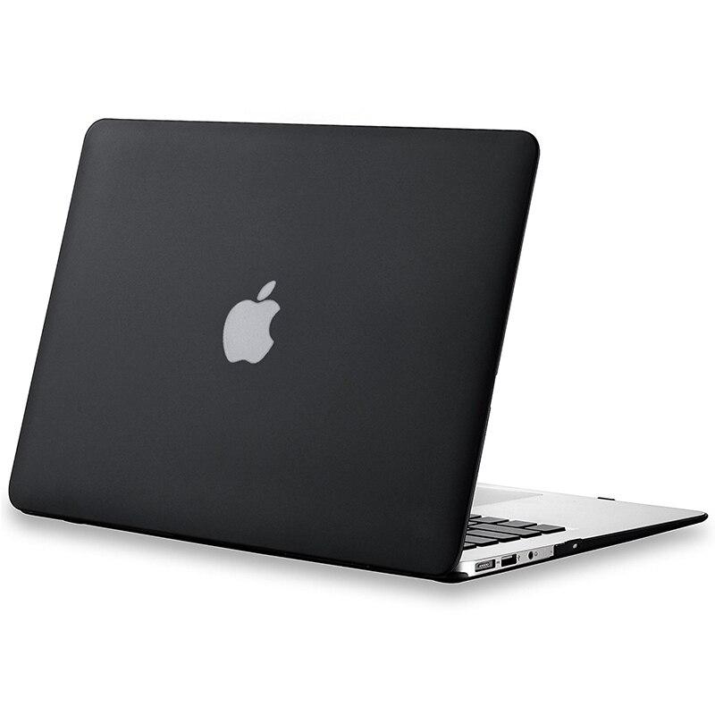 Nuevo cristal transparente mate funda para portátiles para Macbook Air 13 casos 12 11 15 Pro Retina 13,3