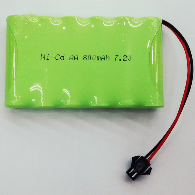Car Battery Voltage >> NiCd Battery AA 7.2V 800MAH for electric toy car 7.2v ni cd aa battery freeshipping-in ...