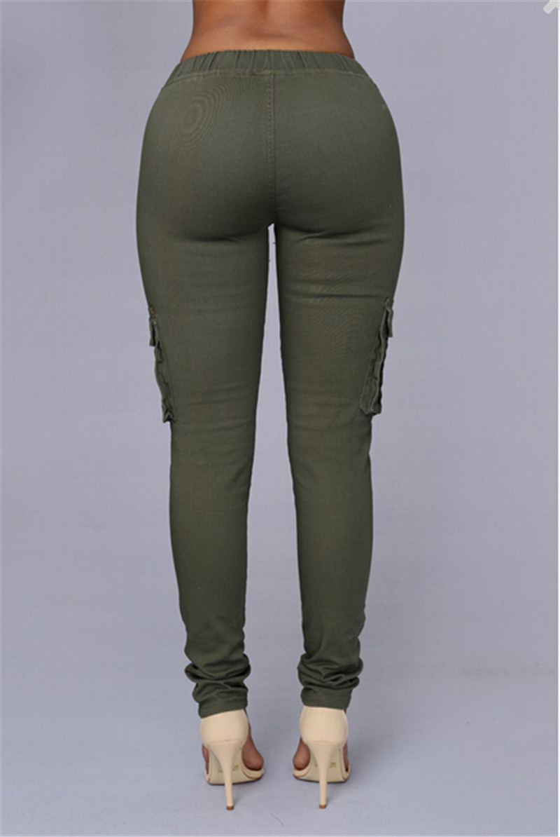 7371ae245f79f NATTEMAID High Recommend the most popular American Style khaki tight ...