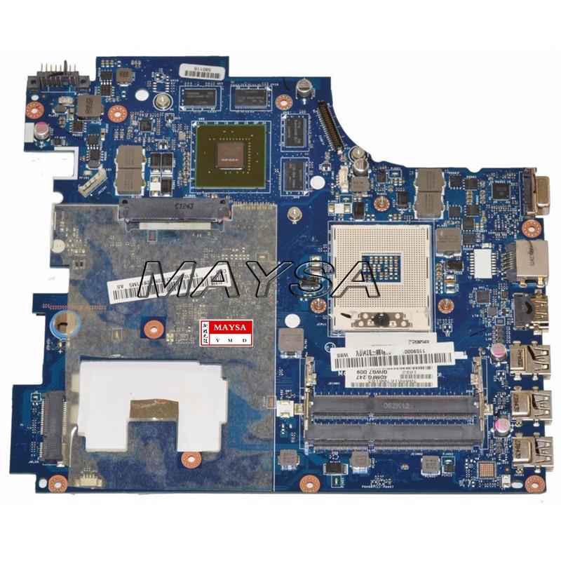 все цены на  QIWG7 LA-7983P DDR3 USB3.0 Main board fit for Lenovo G780 Series Laptop Motherboard HM76 tested  онлайн