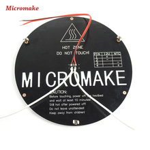 Micromake 3D Printer Parts Heated Bed for 3D Printer Heater board