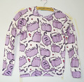 New Fashion Men/women Cartoon Pusheen Cat Sweatshirt Printed Long Sleeve Shirts 3d Animal Hoodies Sweatshirts Moleton