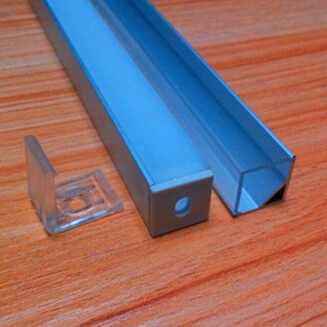 20m (20pcs) a lot, 1m per piece 16x16mm SN1616B aluminum profile for led flexible smd strips, triangle shape