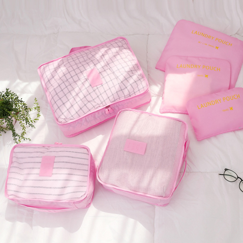 ec1c7a12677d US $10.81 35% OFF|6 In 1 Pack Clear PVC Zippered Toiletry Carry Pouch  Neceser Cosmetic Make up Bag for Vacation, Bathroom Travel bags  Organizer-in ...