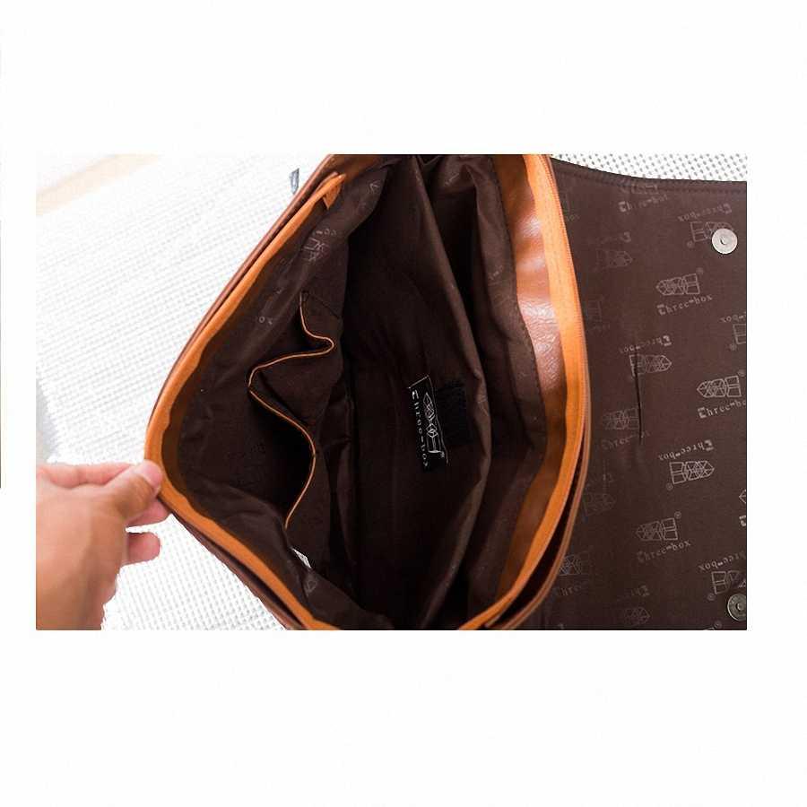 Дизайнерские сумки Для мужчин 14 дюймов Сумка для ноутбука искусственная кожа сумки через плечо Для мужчин Путешествия Школьные сумки мешки отдыха Бесплатная доставка