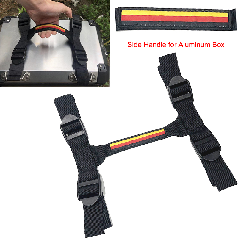 2x Side Handle Strap Lift for BMW R1200GS Aluminum Box F700GS F800GS Side Case