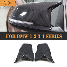 Replaced Style Carbon Fiber Mirror Covers for BMW 1 4 Series F22 F32 F33 F34 GT