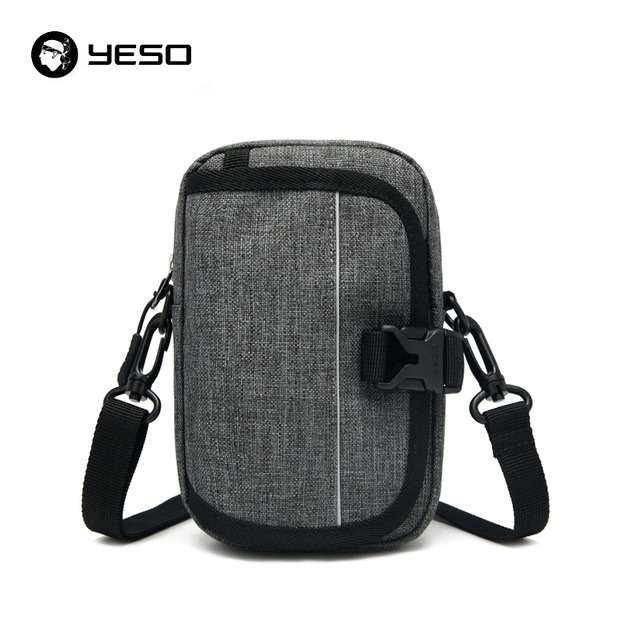 51c7983d2fd9 YESO Casual Shoulder Bags for Men Water Resistant Handbags Nylon Leisure  Crossbody bags Male Travel Business Messenger Bag