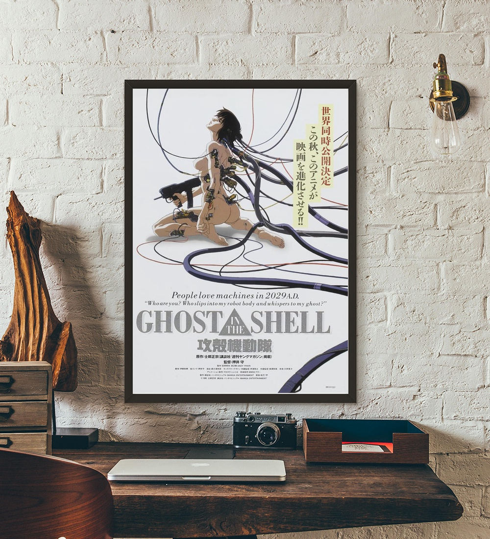 Ghost In The Shell 2 Innocence 2004 Movie Wall Art Wall Decor Silk Prints Art Poster Paintings for Living Room No Frame image