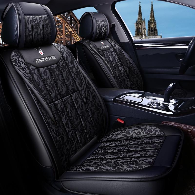 Car seasons universal seat cover covers auto accessories for mitsubishi ASX Eclipse Cross montero Outlander pajero 2 3 4 l200