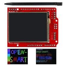 2.2 дюймов TFT LCD Дисплей модуль С Сенсорным Экраном Щит на борту температуры датчик + Ручка для Arduino UNO R3/Mega 2560 R3/леонардо