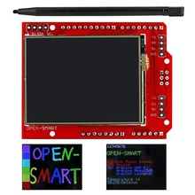 2.2 inch TFT LCD Display module Touch Screen Shield onboard temperature sensor + Pen for Arduino UNO R3/ Mega 2560 R3 / Leonardo