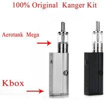 100% Original Kanger Electronic Cigarette Kanger Kbox 8-40W Kanger Aerotank Mega Kit 3.8ML 510 Connection
