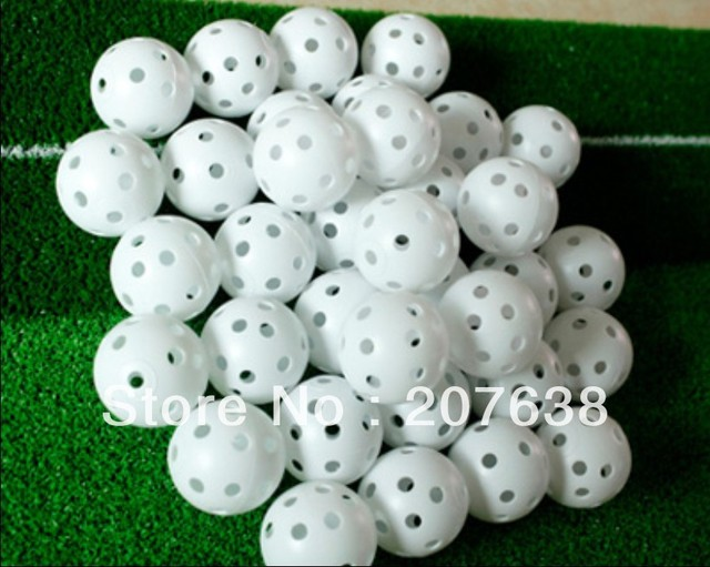 Best Selling!10pcs/pack golf balls hollow ball golf  Soft indoor practice golf balls Free Shipping