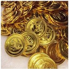 Пираты Карибского моря сокровище монеты 50 шт. поддельные монеты Карибский Капитан вечерние хобби шкатулка для драгоценностей поставки вечерние игрушки монета 7ZHH204