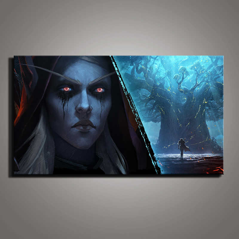 Wall Artwork Home Decoration Canvas Painting 1 Pieces Pcs Game