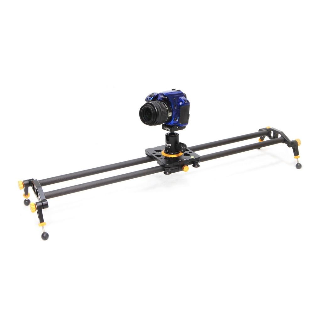 Carbon Fiber Camera Track Slider Video Stabilizer Rail with 6 Bearings for Canon/Nikon/Pentax DSLR DV цена