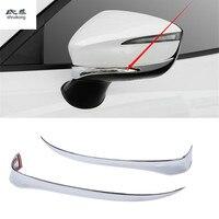2pcs/lot ABS chrome for 2015 2016 2017 2018 Mazda CX 3 CX3 CX 3 car accessories car stickers rear view mirror protective cover