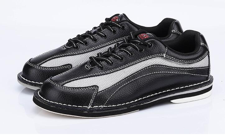 Высокое quatliy Для мужчин Боулинг Мужская обувь противоскользящей подошвой кроссовки натуральная кожа дышащий светоотражающие Для мужчин сп