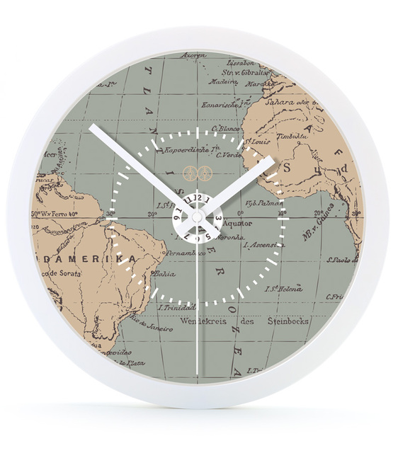 Buy World Map Clock. Quartz Home Wall Clocks The World Map Clock Luminous Circular Silent Quiet  Meeting School Study Kids