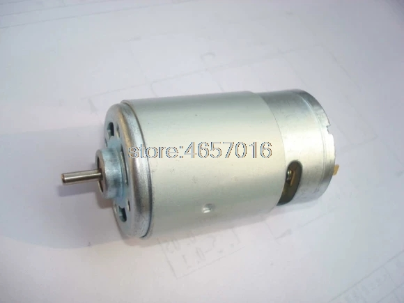 Brand new 550 555 DC motor 37*57mm 12V 3400RPM slow speed DC motor~
